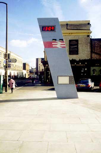 Snug outdoor public space hackney clocktower